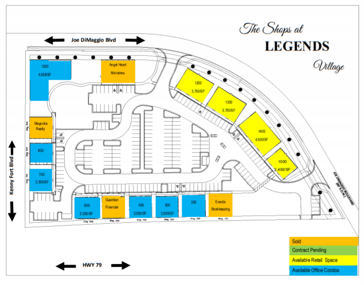 Shops at Legends - layout