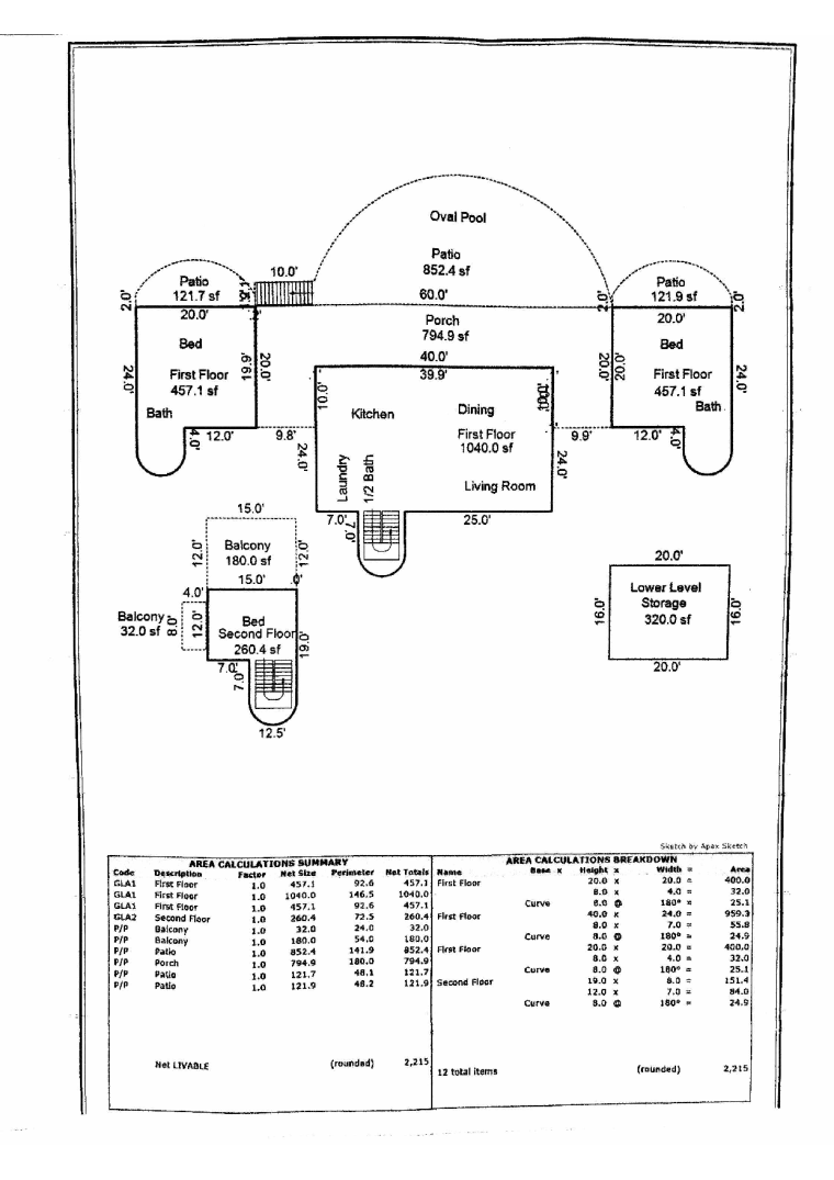 st johns floorplan
