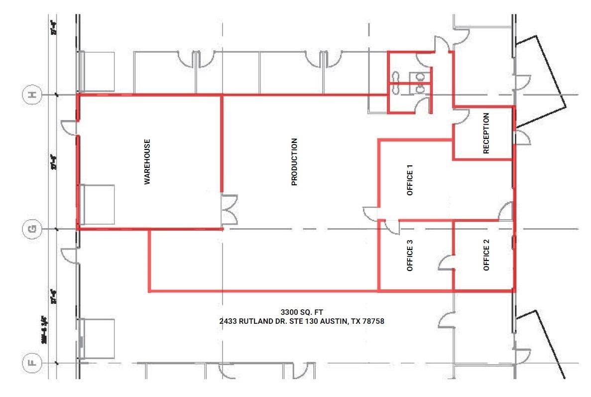 floor plan - rutland