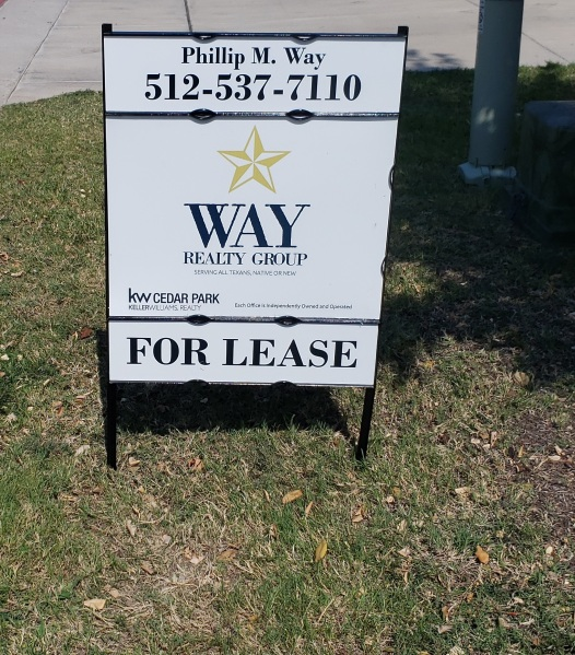 For Lease Sign 404 - 34
